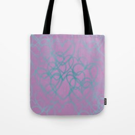 Love, love, love - Hearts all over Tote Bag