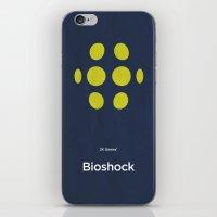 bioshock iPhone & iPod Skins featuring 2K Games' Bioshock by Lechaftois Boris (LBö)