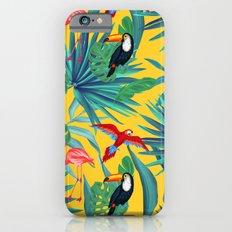 tropical yellow Slim Case iPhone 6s