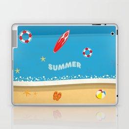 Summer Beach Laptop & iPad Skin