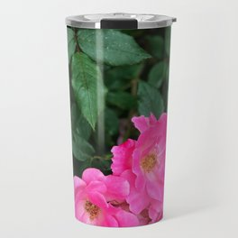 Pink Flowers II Travel Mug