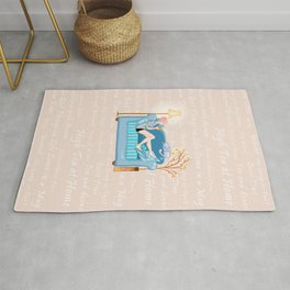Victoria's Brew Time Rug