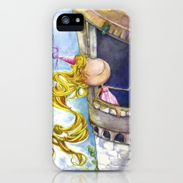 Princess Rapunzel iPhone Case