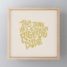 Ferris Bueller Framed Mini Art Print