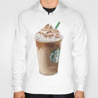 starbucks Hoodies featuring Starbucks clean by Amit Naftali