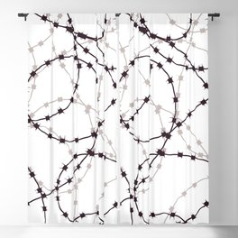 barbed wire Blackout Curtain