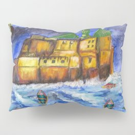 Stormy Castle Infested Pillow Sham