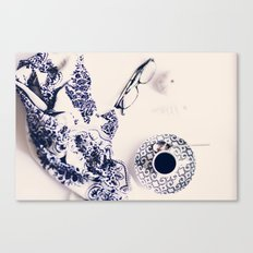 coffee blues Canvas Print