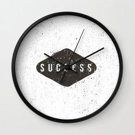 Success Black Diamond Wall Clock