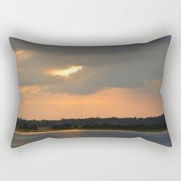 across the sound from Topsail Rectangular Pillow