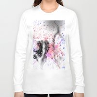 lightning Long Sleeve T-shirts featuring lightning by clarkcoulbourn
