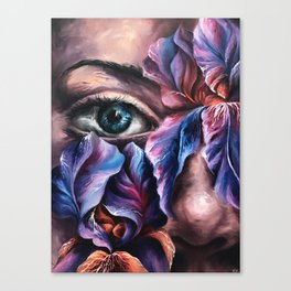 """Guarded"" Painting Canvas Print"