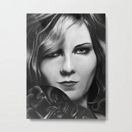 Kirsten Dunst by A.Harrison Metal Print