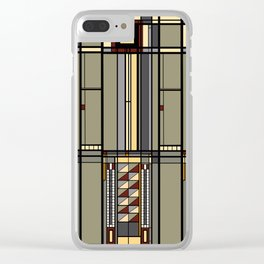 Wright. Clear iPhone Case