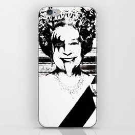 Save The Queen iPhone Skin