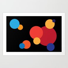 Blowing Bubbles Art Print