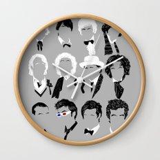 Twelve Doctors Wall Clock