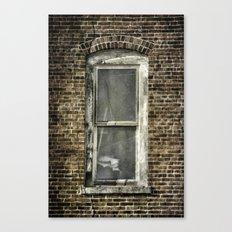 Brick Window 2 Canvas Print
