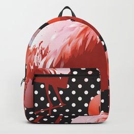 Watercolor Flamingo Pattern 11 Backpack