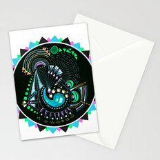 Formed in Space  Stationery Cards