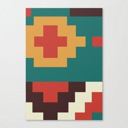 UFOlk 2 Canvas Print