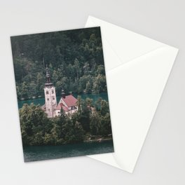 Lake Bled, Slovenia, 5 Stationery Cards
