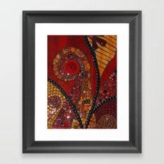 Swirls Framed Art Print