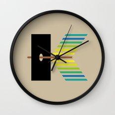 K like K Wall Clock