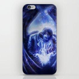 Angel in Blue iPhone Skin