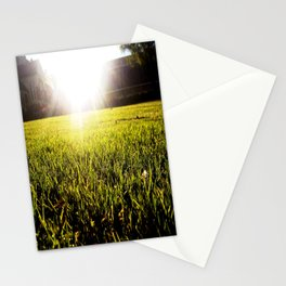 and the grass is always greener.. Stationery Cards