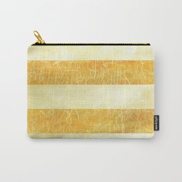 Yellow Stripes Carry-All Pouch