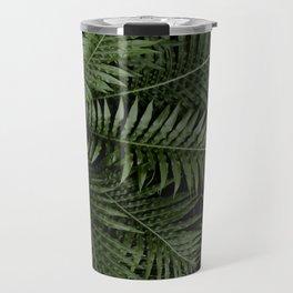 Tropical leaves 02 Travel Mug