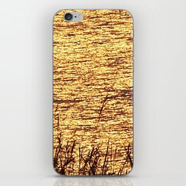 Sparkling Sea of Gold iPhone Skin