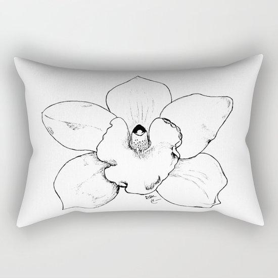 WILD ORCHID Rectangular Pillow