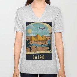 Vintage poster - Cairo Unisex V-Neck