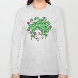 Medusa Anime Long Sleeve T-shirt