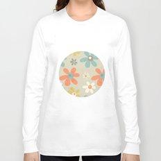 flowers pattern Long Sleeve T-shirt