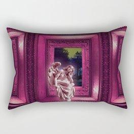 Angel of Bristol (PINK) Rectangular Pillow