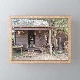 Old Timers Hut Framed Mini Art Print
