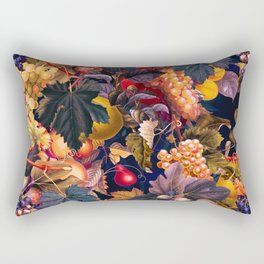 Vintage Fruit Pattern VI Rectangular Pillow