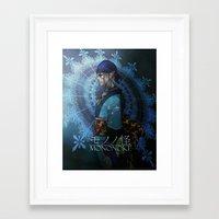 mononoke Framed Art Prints featuring Mononoke by princefox