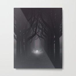 Lyset Metal Print