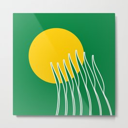 Spring Sun Metal Print