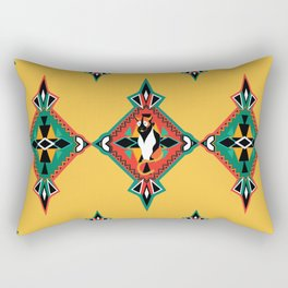 Felino Azteca Rectangular Pillow