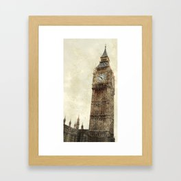 London Flea Market Framed Art Print
