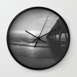 Pier and Surf Wall Clock