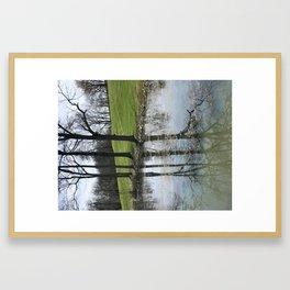 Park in Maysviile Kentucky Framed Art Print