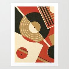 Bauhausmusic - Part II Art Print