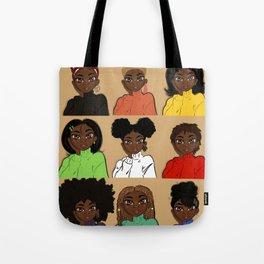 Favorite Hairstyles Tote Bag