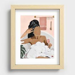 Unwind Recessed Framed Print